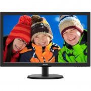 """Monitor LED Philips 223V5LHSB2/00 21.5"""" 5ms Black"""