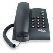Telefone C/ Fio Pleno Preto - Intelbras