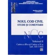 Noul Cod civil. Studii si comentarii. Vol. 2 Art. 535-1163