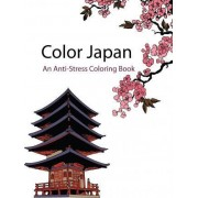 Color Japan (Color Therapy) by Star Coloring Books