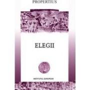 Elegii - Editie bilingva - Propertiu