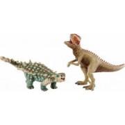 Figurina Schleich Saichania and Giganotosaurus Small Set