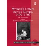 Women's Letters Across Europe, 1400-1700 by Jane Couchman