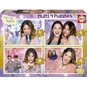 Educa - 16190 - Puzzle Classique - Multi 4 En 1 - Violetta
