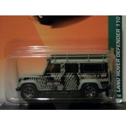 Matchbox 2010 # 100 Land Rover Defender 110 Green 1:64 Scale Collectible Die Cast Car