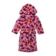 Playshoes Retro Fleece Hooded Bathrobe Baby Girl's Loungewear