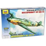 Modellino Aereo Messerschmitt Bf-109 German Fighter F2/F4 Scala 1:48 [Giocattolo]