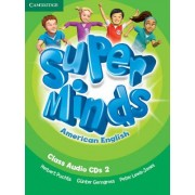 Super Minds American English Level 2 Class Audio CDs (3) by Herbert Puchta