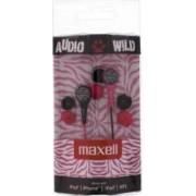Casti Maxell Audio Wild Roz cu Negru