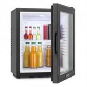 MKS-13 Minibar 32 Liter Klasse A schwarz Glas 0dB
