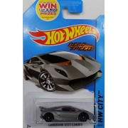 [Bundle 4 Items] HotWheels Lamborghini Set - Lamborghini Sesto Elemento, Lamborghini Huracan LP 610-4, Lamborghini...