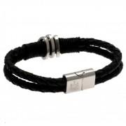 Newcastle United FC Leather Bracelet