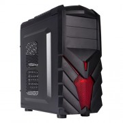 Black Lion caja PC Gamer Negra PG1137 USB 3.0