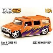 Jada Dub City Orange & Purple 2003 Hummer H2 1:64 Scale Die Cast Car by Jada Toys