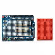 Duinopeak prototipo Shield w / protoboard para Arduino - azul