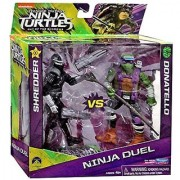 Teenage Mutant Ninja Turtles Out of the Shadows Ninja Duel Shredder vs Donatello 5 Action Figure 2-Pack