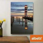 Jouw Foto op Aluminium - Aluminium Staand 20x30 cm.
