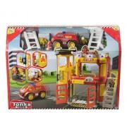 Tonka Città - Fire Station Playset, rosso e giallo (HTI VHTI_1415960)
