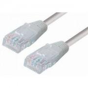 Transmedia TI23-15GL, CAT6 UTP Patch Kabel (RJ45), 15m sivi