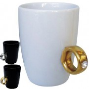 Engagement Ring - Coffee Cup