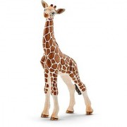 Schleich North America Giraffe Calf Toy Figure