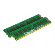 Kingston ValueRAM - DDR3 - 16 Go: 2 x 8 Go - DIMM 240 broches - 1333 MHz / PC3-10600 - CL9 - 1.5 V - mémoire sans tampon - non ECC