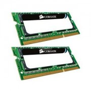 Memorie Corsair SO-DIMM ValueSelect 8GB (2x4GB) DDR2, 800 MHz, PC2 - 6400, CL 6-6-6-18, Dual Channel Kit, VS8GSDSKIT800D2