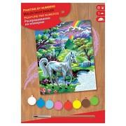 KSG 0124 - Junior Masterpiece, Paint by Numbers, Unicorn