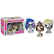 Giltter DJ Pon3, Whooves and Derpy: Funko POP! x My Little Pony Vinyl Figure Gift Set