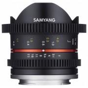Samyang 8mm T3.1 Cine UMC Fish-eye II (Samsung NX)