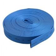 uxcell 8mm 0.315 Blue Heat Shrinkable Tube Shrink Tubing 10M 32.8Ft Length