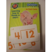 A+ Flash Cards ~ Division (36 Cards; 2012)