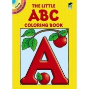 The Little ABC Coloring Book by Anna Pomaska