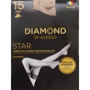 Ciorapi cu banda Diamond Star