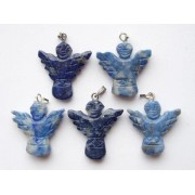 Angyal medál - Lápisz lazuli