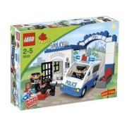 Lego - 5602 - Duplo - Jeux De Construction - Le Poste De Police