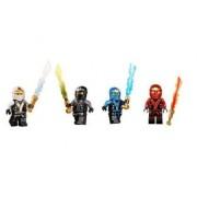 LEGO Ninjago Final Battle Kimono Ninja's Cole Jay Kai Zane Minifigures, Set of 4