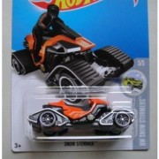 HOT WHEELS HW SNOW STORMERS 5/5 ORANGE/BLACK SNOW STORMER 160/250 INTERNATIONAL SHOWDOWN CARD