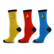 Star Trek The Original Series Uniform Calcetines (Set of 3)