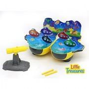 Underwater Submarine Battle Adventure Game Series from Little Treasures That comes with Siege Cannon Submarine Underwat