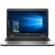 "Laptop HP ProBook 650 G2 (Procesor Intel® Core™ i5-6200U (3M Cache, up to 2.80 GHz), Skylake, 15.6""FHD, 4GB, 256GB SSD, Intel HD Graphics 520, Tastatura iluminata, FPR, Win7 Pro + upgrade la Win10 Pro)"
