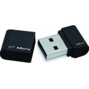 USB Flash Drive Kingston DataTraveler Micro 16GB Black