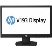"Monitor TN LED HP 18.5"" V193, HD Ready (1366 x 768), VGA, 5ms, Anti-glare (Negru)"