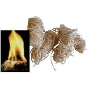 Accendifuoco blinky ecologico paglietta legno-cera pezzi 24