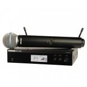 Shure BLX24R/BETA58 Sistema Microfone Sem Fio