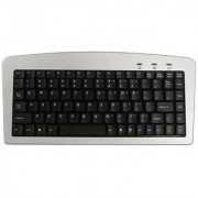 Adesso 88-Key Mini Membrane USB and PS/2 Keyboard for Windows (AKB-901)