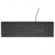 Клавиатура Dell KB216 Wired Multimedia Keyboard Black Retail, 580-ADHY