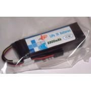 Intellect IP2800 Tx LiPo Battery 11.1V 2800mAh Stick shape for Futaba / KO/Sanwa