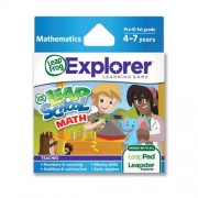 LeapFrog Explorer Learning Game LeapSchool Math