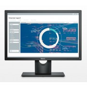 "Dell E2016, 19.5"" Wide LED Anti-Glare, IPS Panel, 6ms, 1000:1, 250 cd/m2, 1440x900 HD, VGA, Tilt, Black"